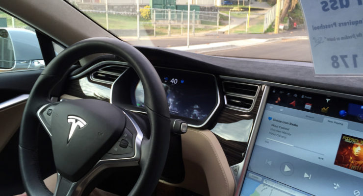 Self Driving Car Tesla
