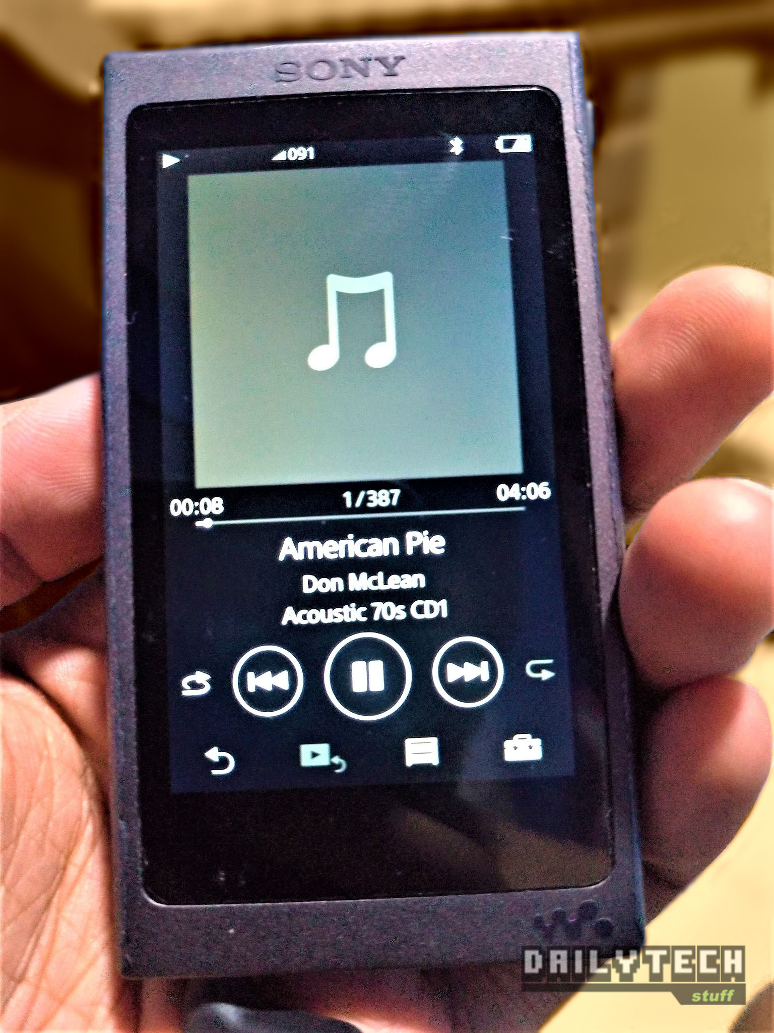 Sony flac player